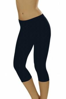 Damen Leggings Leggins short melange