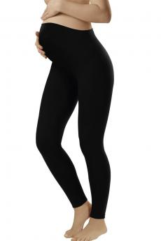 Damen Umstandwäsche Leggins long black