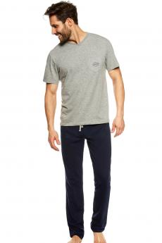 Herren Pyjamas 36829 Upon grey