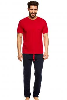Herren Pyjamas 36829 Upon red